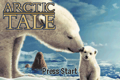 Arctic Tale title screenshot
