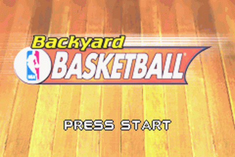Backyard Basketball title screenshot