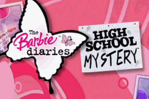 Barbie Diaries, The - High School Mystery title screenshot