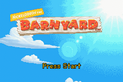 Barnyard title screenshot