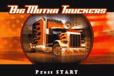 Big Mutha Truckers title screenshot
