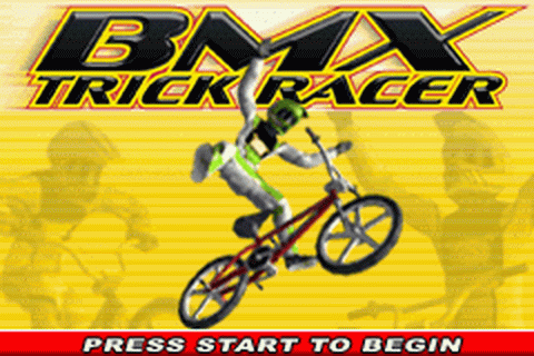 BMX Trick Racer title screenshot
