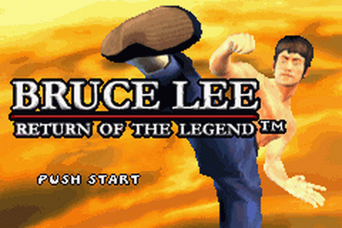 Bruce Lee - Return of the Legend title screenshot