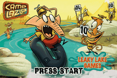 Camp Lazlo - Leaky Lake Games title screenshot