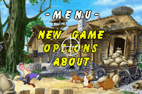 Chicken Shoot title screenshot