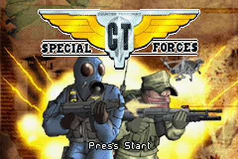 CT Special Forces title screenshot