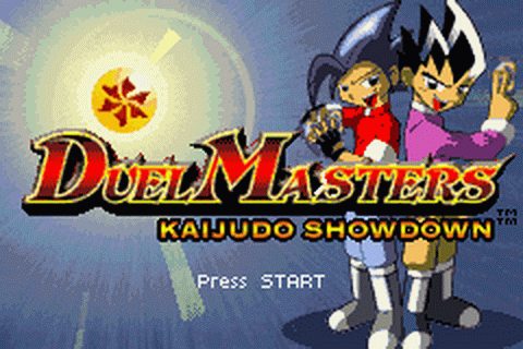Duel Masters - Kaijudo Showdown title screenshot