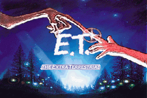 E.T. - The Extra-Terrestrial title screenshot