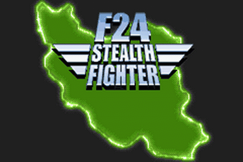 F24 Stealth Fighter title screenshot