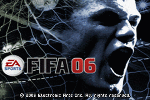 FIFA Soccer 06 title screenshot