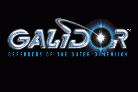 Galidor - Defenders of the Outer Dimension title screenshot
