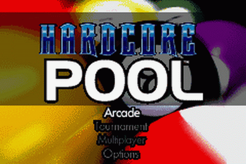 Hardcore Pool title screenshot