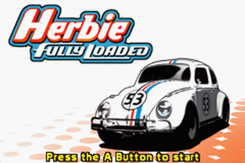 Herbie - Fully Loaded title screenshot
