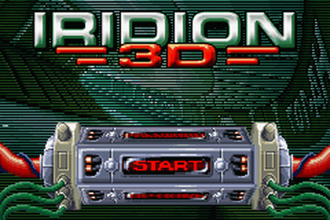 Iridion 3D title screenshot