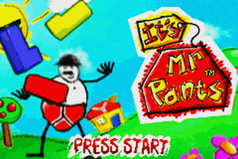 It's Mr. Pants title screenshot