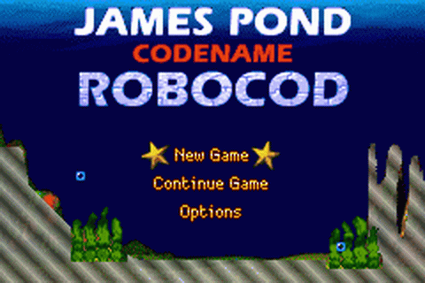James Pond - Codename Robocod title screenshot