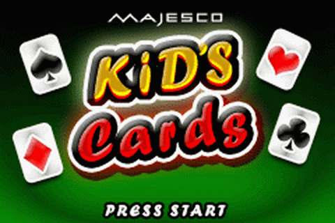 Kid's Cards title screenshot