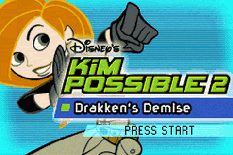 Kim Possible 2 - Drakken's Demise title screenshot
