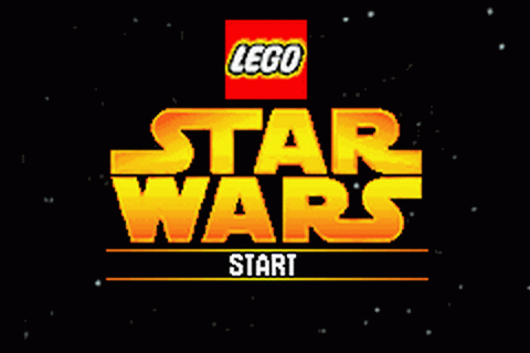 LEGO Star Wars - The Video Game title screenshot