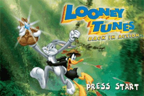 Looney Tunes - Back in Action title screenshot