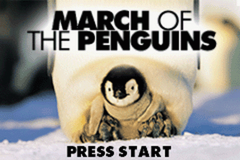 March of the Penguins title screenshot