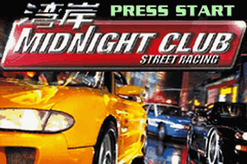 Midnight Club - Street Racing title screenshot
