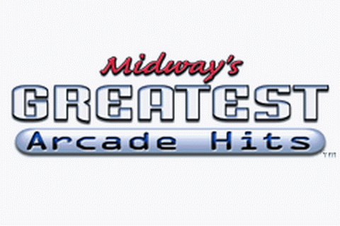 Midway's Greatest Arcade Hits title screenshot