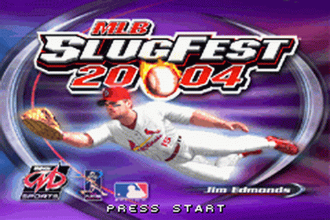 MLB SlugFest 20-04 title screenshot