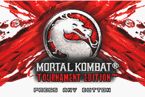 Mortal Kombat - Tournament Edition title screenshot