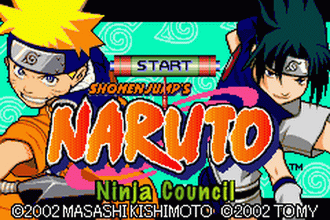 Naruto - Ninja Council title screenshot