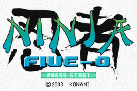 Ninja Five-0 title screenshot