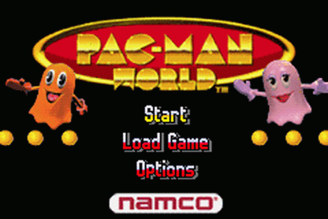 Pac-Man World title screenshot