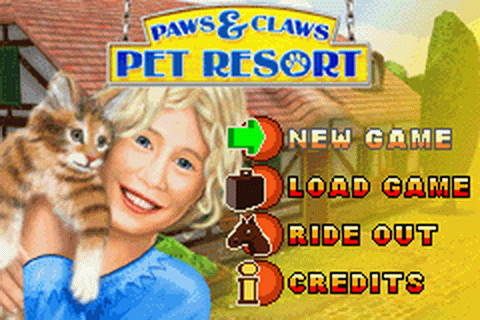 Paws & Claws - Pet Resort title screenshot