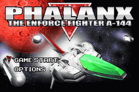 Phalanx title screenshot