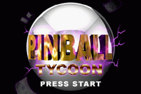 Pinball Tycoon title screenshot