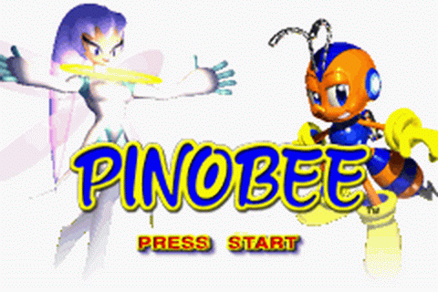 Pinobee - Wings of Adventure title screenshot