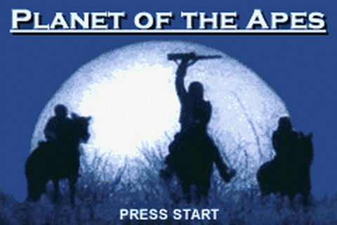 Planet of the Apes title screenshot
