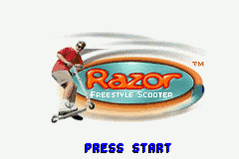 Razor Freestyle Scooter title screenshot