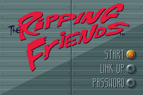 Ripping Friends, The title screenshot