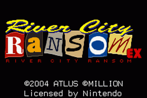 River City Ransom EX title screenshot