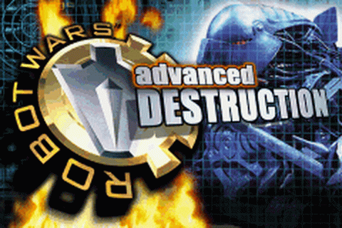 Robot Wars - Advanced Destruction title screenshot