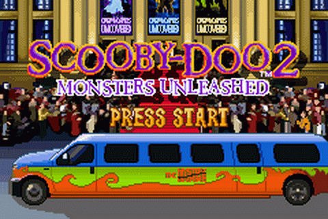 Scooby-Doo 2 - Monsters Unleashed title screenshot