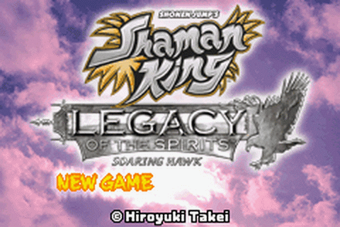 Shaman King - Legacy of the Spirits - Soaring Hawk title screenshot