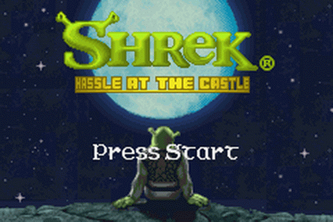 Shrek - Hassle at the Castle title screenshot