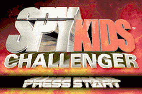 Spy Kids Challenger title screenshot
