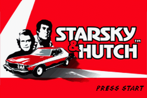 Starsky & Hutch title screenshot