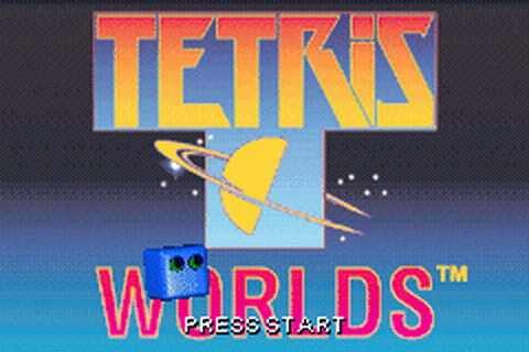 Tetris Worlds title screenshot