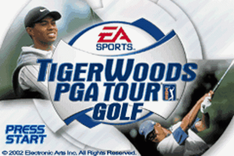 Tiger Woods PGA Tour Golf title screenshot