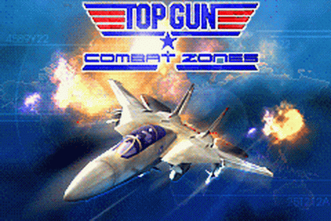 Top Gun - Combat Zones title screenshot