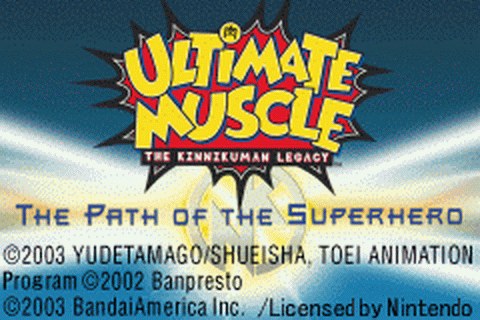 Ultimate Muscle - The Kinnikuman Legacy - The Path of the Superhero title screenshot